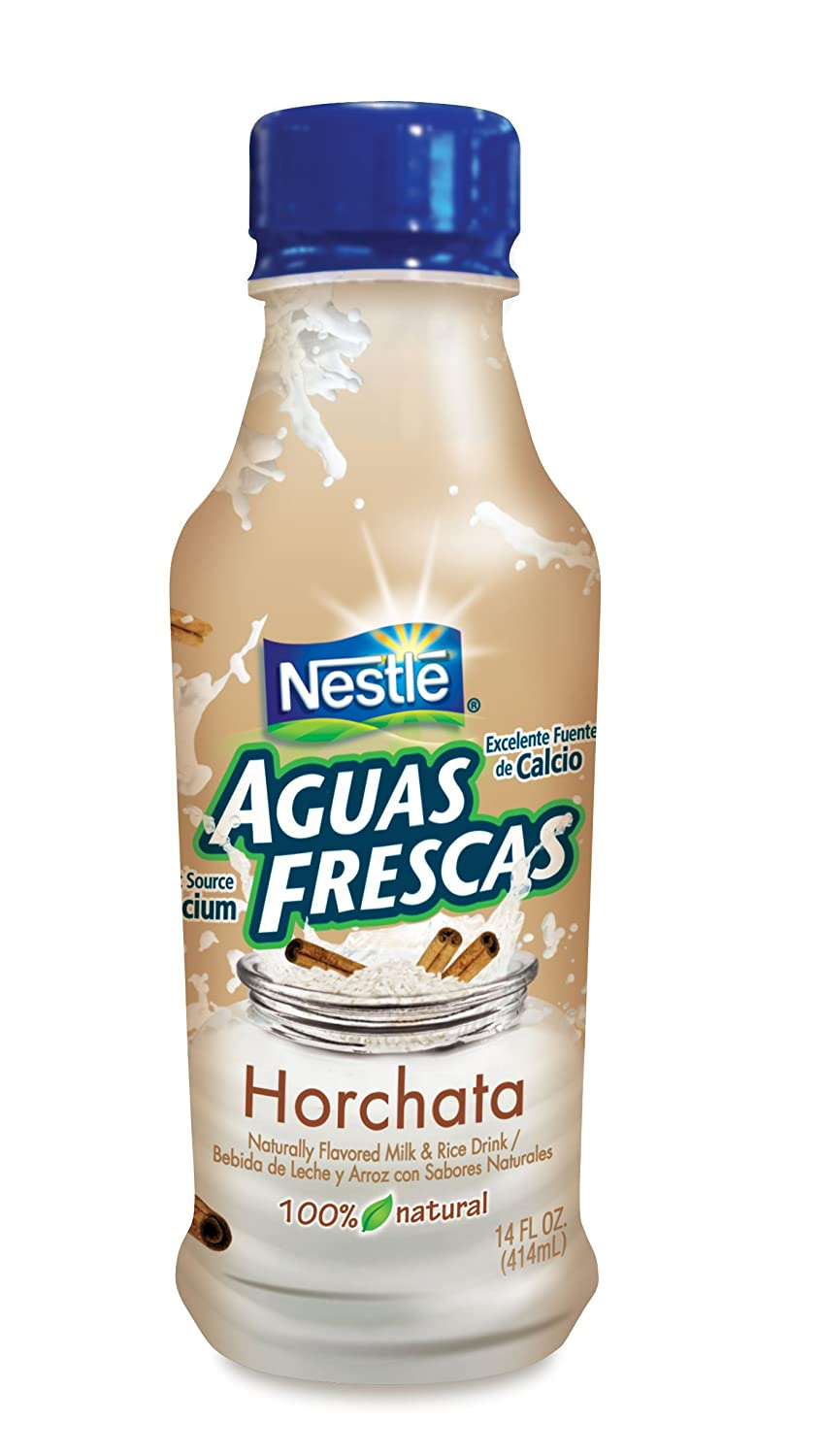Amazon.com : Nestle Aguas Frescas Horchata-Pet, 14-Ounce (Pack of 6) : Powdered Drink Mixes : Grocery & Gourmet Food