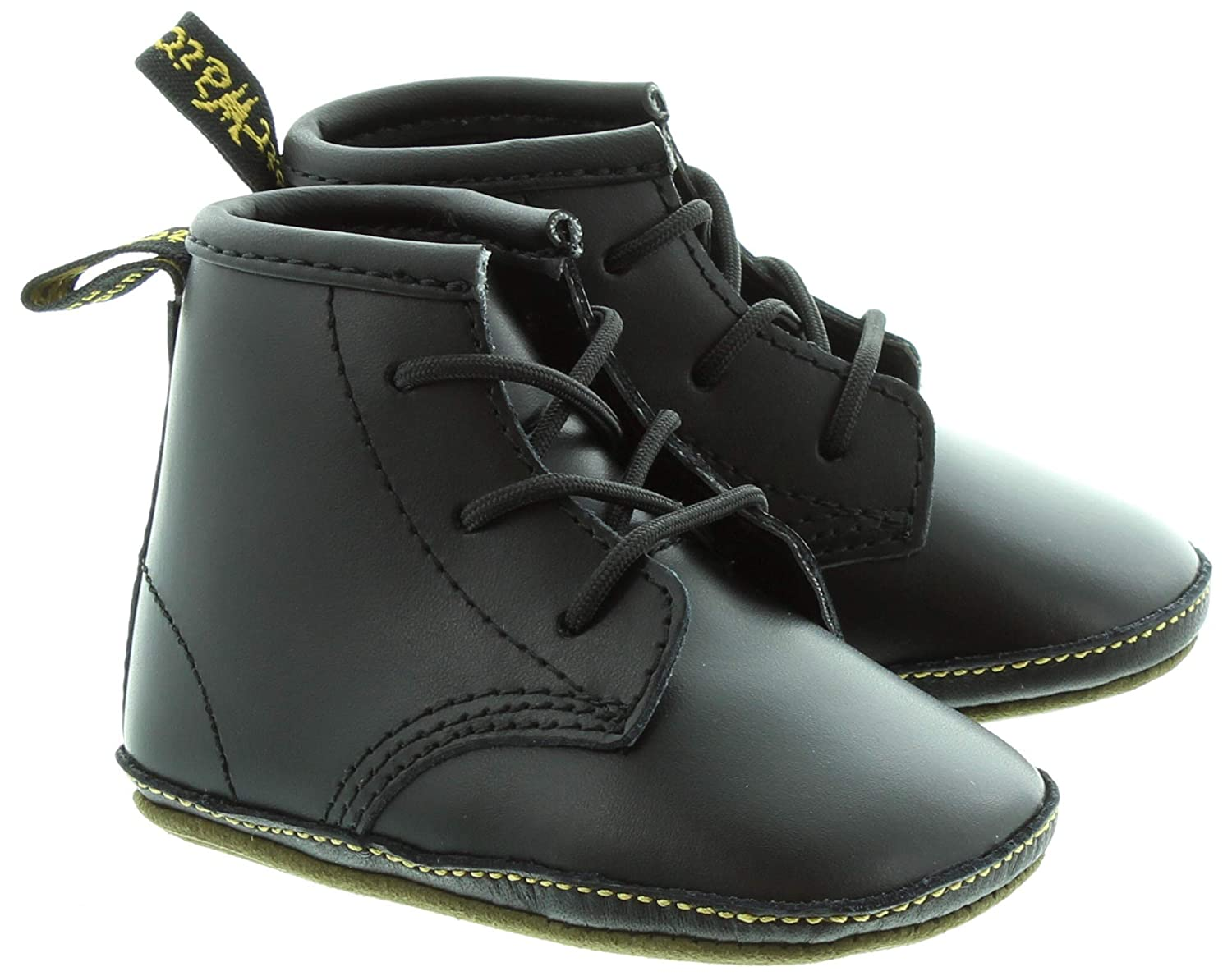 9be4997181a7 Dr. Martens - Auburn Crib Lace Boot in Black  Amazon.co.uk  Shoes   Bags
