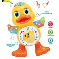 Zest 4 Toyz Dancing Duck + Flashing Lights + Real Dancing Action + Music