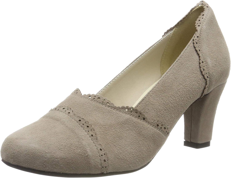 Hirschkogel 3008711 Zapatos de tac/ón con Punta Cerrada para Mujer