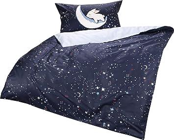 Bettwäsche Garnitur 40x60//100x135   Sterne
