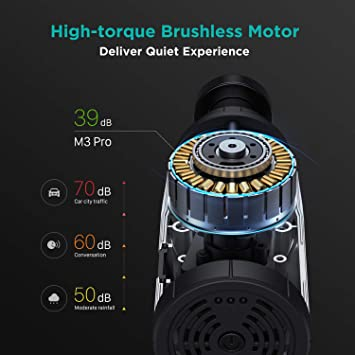 OPOVE M3 Pro Massager motor technology