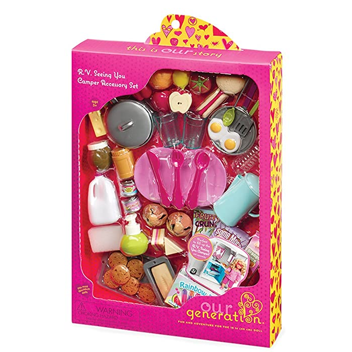 Top 10 American Girl Doll Food Set