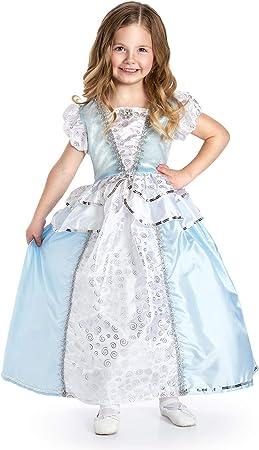 Little Adventures Disfraz de Princesa de Cenicienta para niñas ...