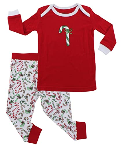 3cc9da9670 Amazon.com: Sleepyheads Children's and Infant's Festive Holiday Knit Pajama  Pj Sets F17-SHK7-4035-RED-4: Clothing