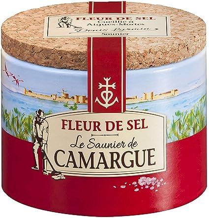 Amazon Com French Fleur De Sel Le Saunier De Camargue Fleur De
