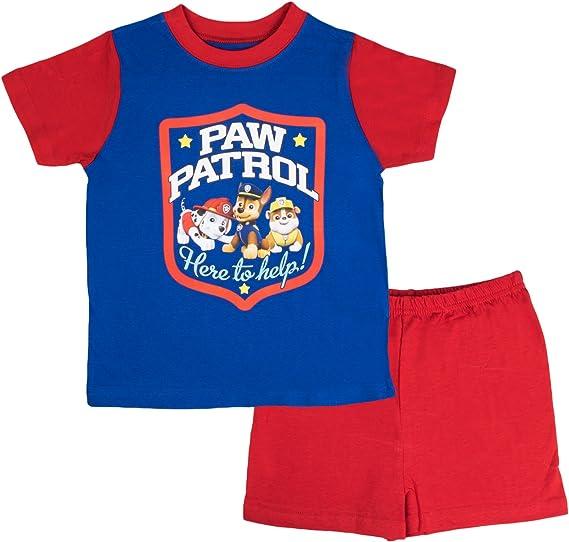 ragazzo Nickelodeon Paw Patrol Pigiama due pezzi