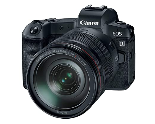 Canon EOS R Mirrorless Digital Camera with 24-105mm Lens Mirrorless System Cameras at amazon