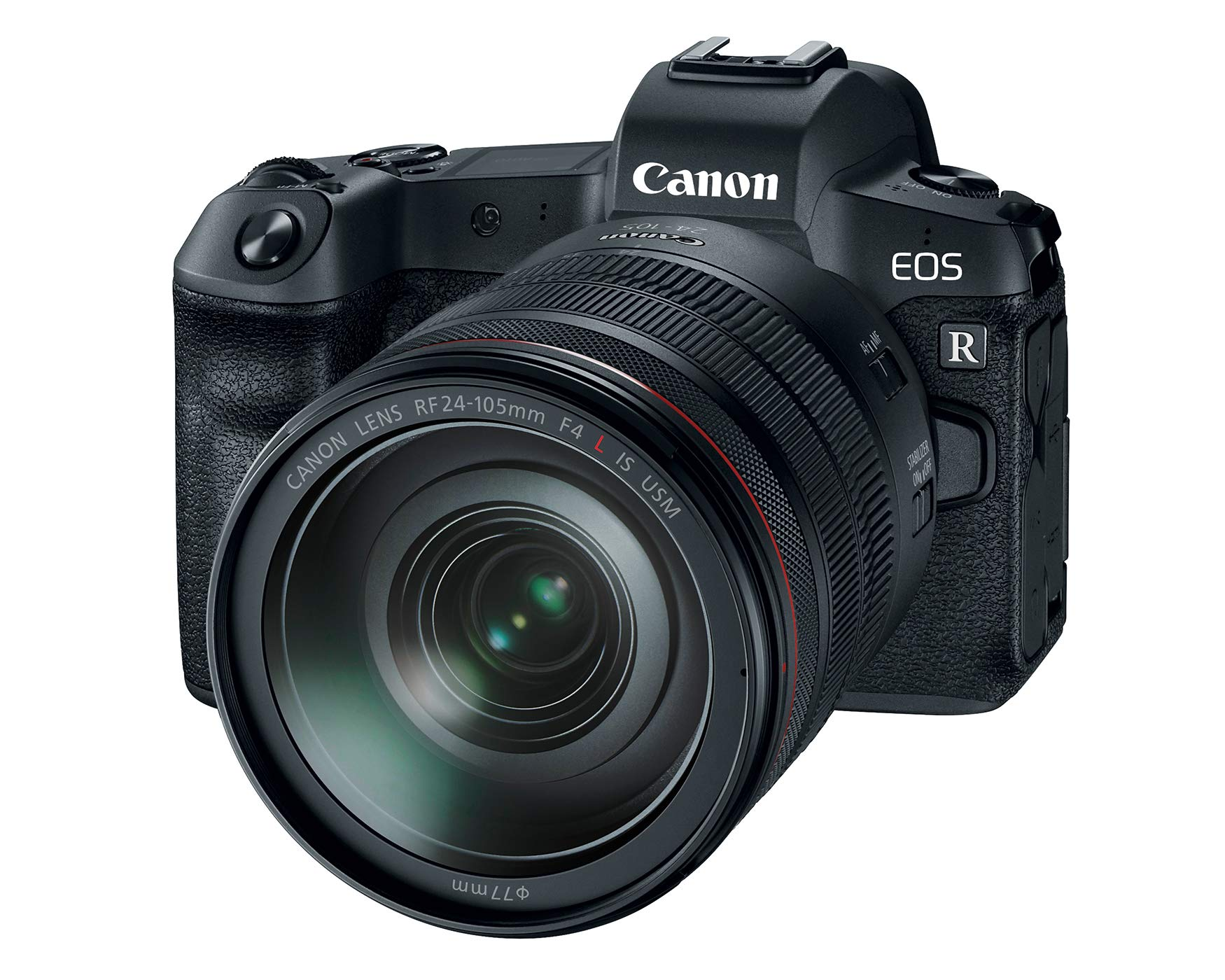 Canon EOS R Mirrorless Camera with RF 24-105mm F/4L IS USM Lens - 3075C012
