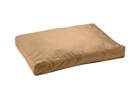 HUNTER Sanremo Cojín para Perro, 90 x 65 cm, tamaño Mediano, Color marrón