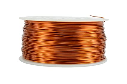 Amazon temco 22 awg copper magnet wire 1 lb 502 ft 200c temco 22 awg copper magnet wire 1 lb 502 ft 200c magnetic coil greentooth Images