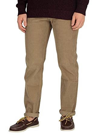 Lois Jeans Hombre Pantalones de Pana Sierra Fina, Marrón ...