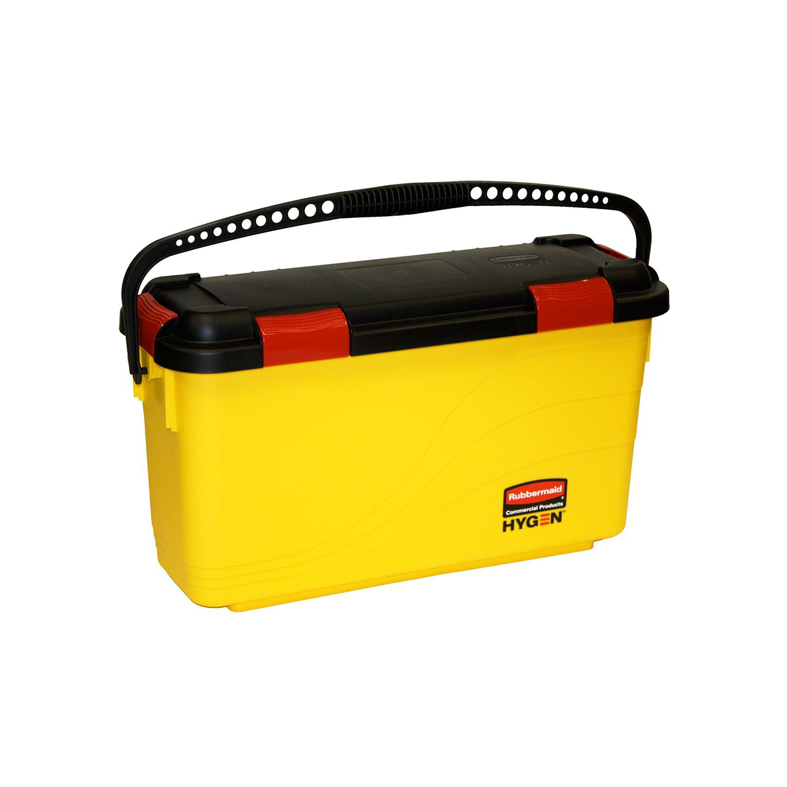 Rubbermaid Commercial FGQ95088YEL HYGEN Charging Bucket for Microfiber Mops, Yellow