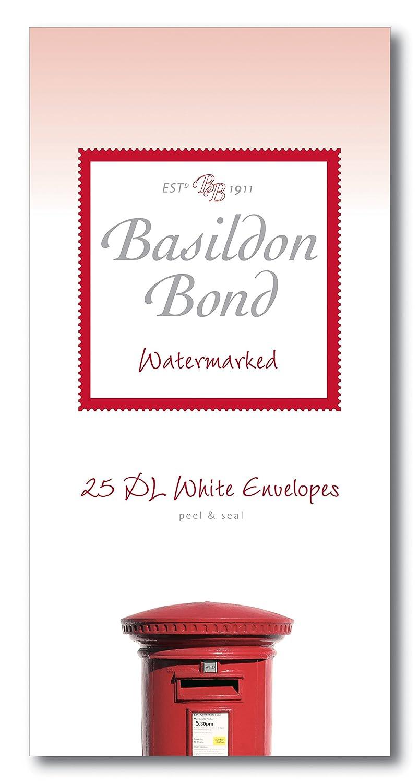 Basildon Bond DL 110 x 220 mm Peel and Seal Envelope - White (Pack of 20) Hamelin Brands Ltd. 100080066