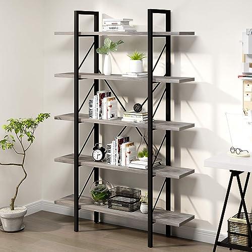 YITAHOME 5 Shelf Bookcase