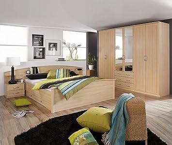 ROLLER Schlafzimmer Catania Buche, Braun: Amazon.de: Küche & Haushalt