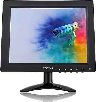 "12/"" TFT LCD Monitor 800*600 HDMI AV VGA BNC For CCTV Security Camera PC Game IM"
