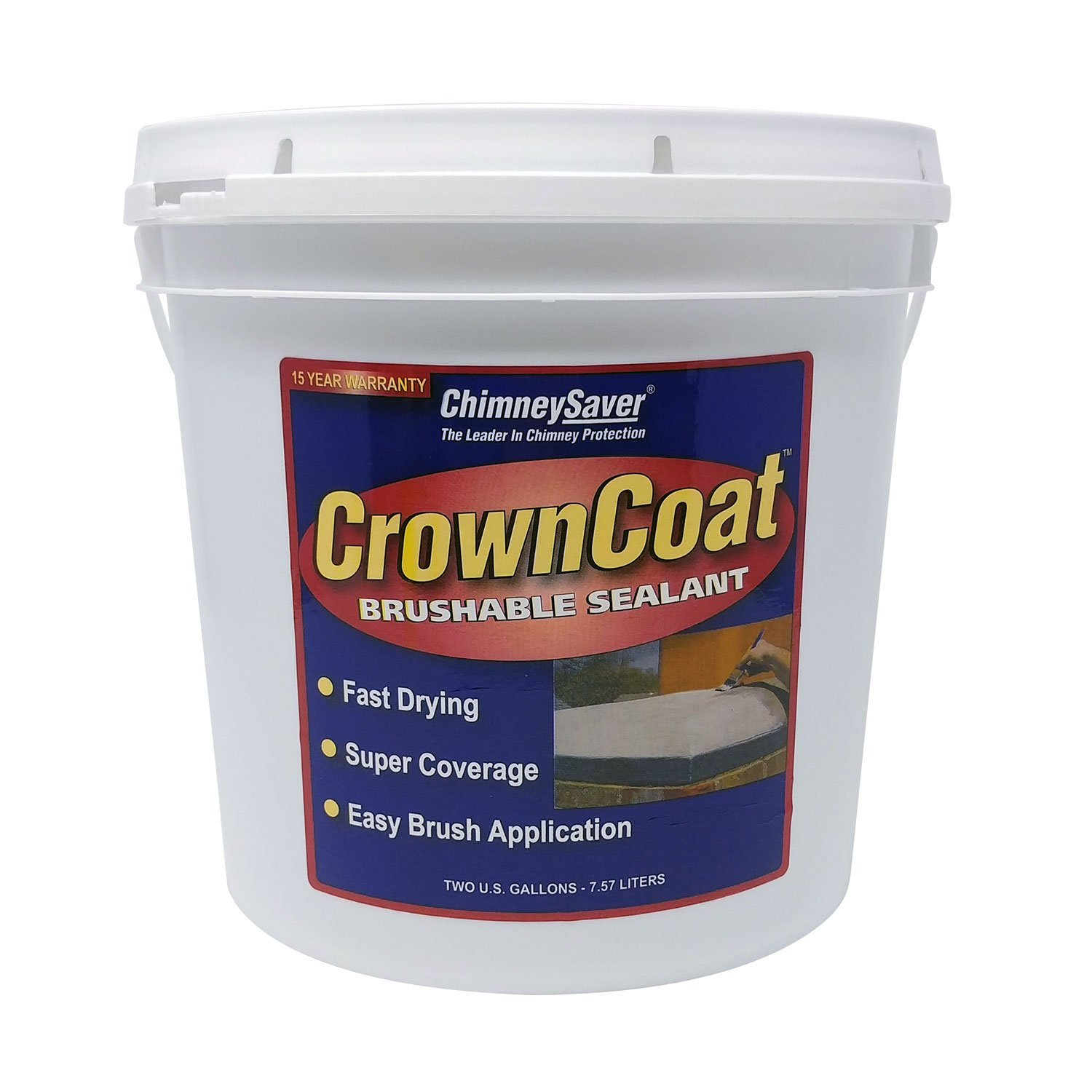 crowncoat brushable sealant standard color 2 gallons coat