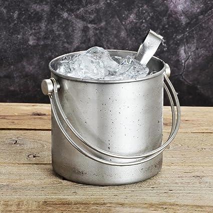 Amazon.com  Stainless steel handle ice bucket 9c6b03ef3