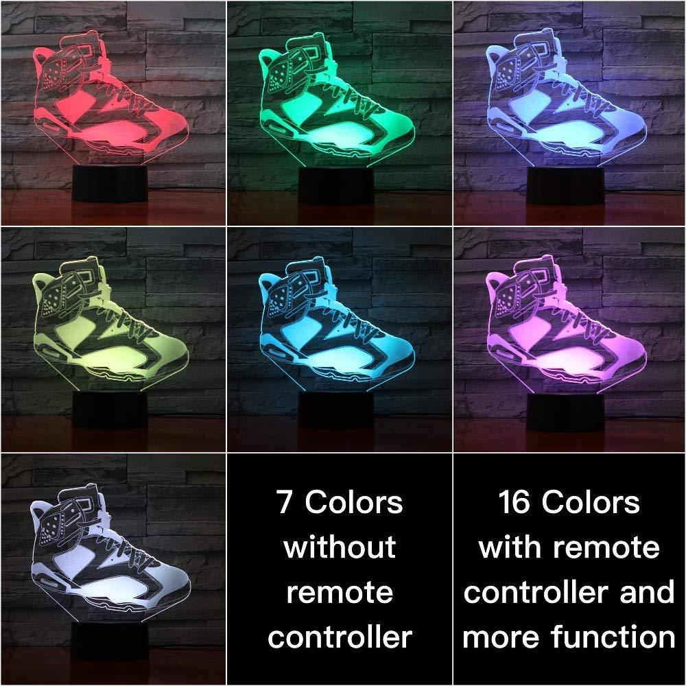 Lámpara Sproud Shoes - S5 16 colores con zapatos remotos Lámpara ...