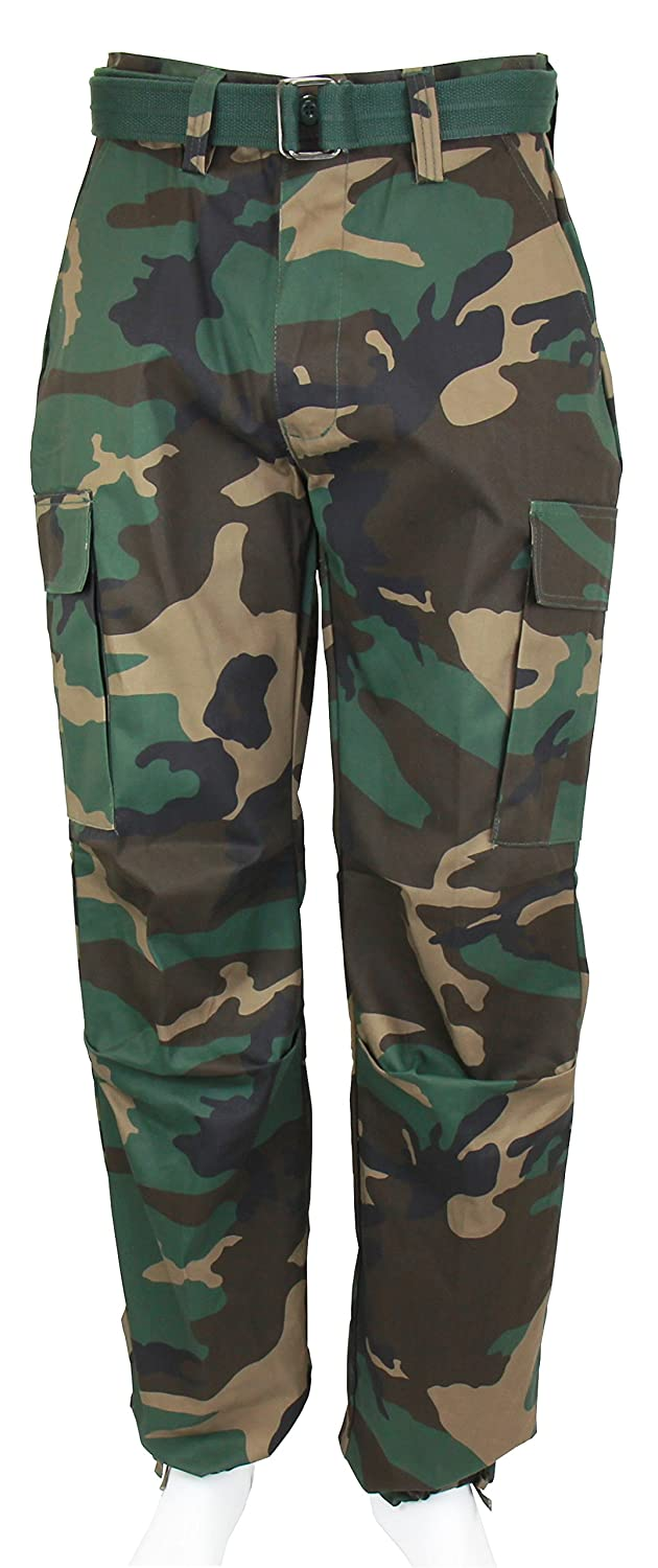 aa1baa466f Amazon.com: Regal Wear Men's Army Cargo Pants W/Belt: Clothing