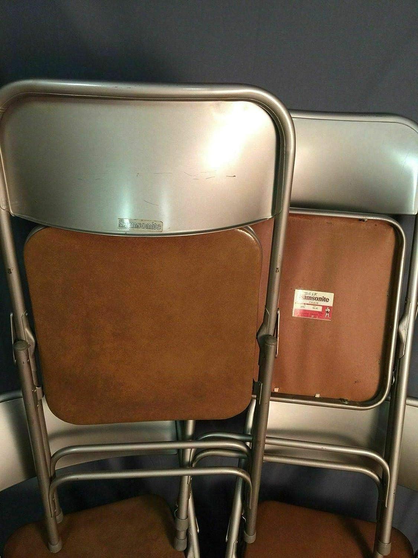 Miraculous Amazon Com Samsonite Padded Folding Chairs Vintage Metal Cjindustries Chair Design For Home Cjindustriesco