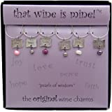 Wine Things WT-1460 Pearls of Wisdom Wine Charms