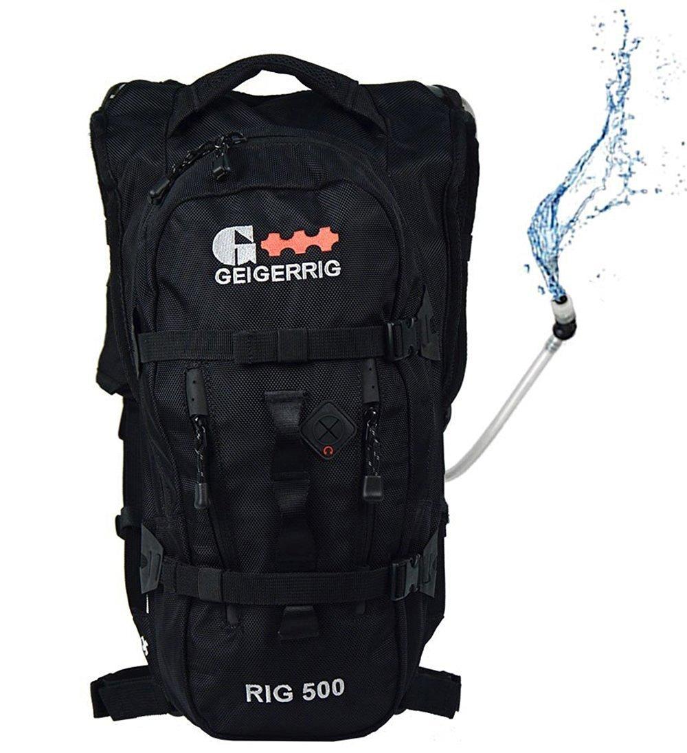 Geigerrig (G2 500 BK) Pressurized Hydration Pack - RIG 500 - Black by Geigerrig