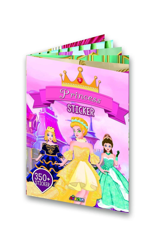 Avenir–Album Sticker Princesse, Couleur coloré (1) Couleur coloré (1) STB0003