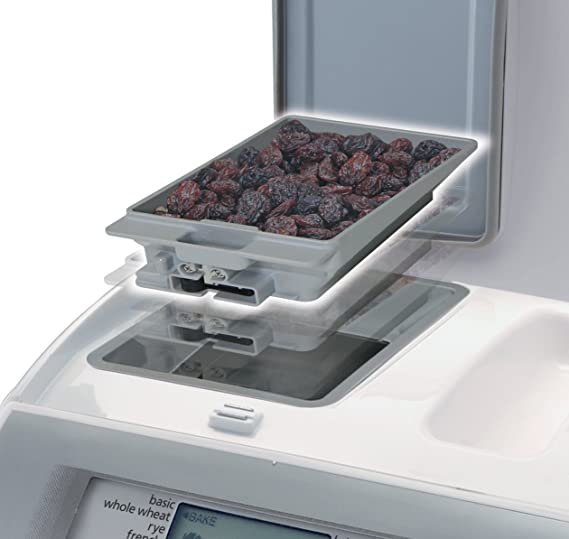 Panasonic Automatic Bread Maker - Panificadora (Blanco, 120AC, 60Hz, 281 mm, 325.1 mm (12.8