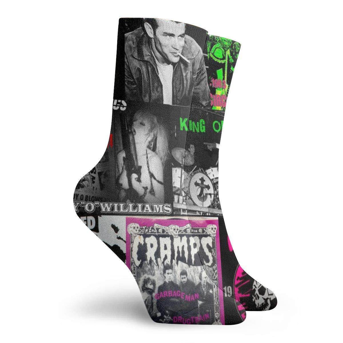 harry wang calze donna corte cotone Punk Collage/_4127 Colorato antiscivolo per uomo donna taglia unica.