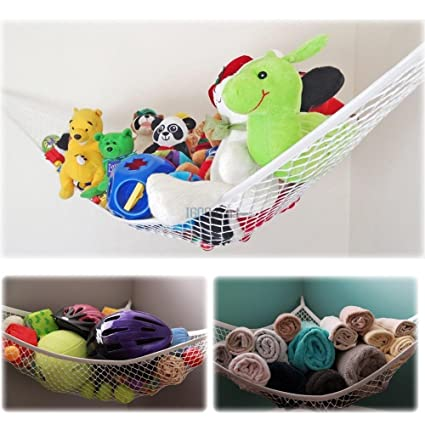 Toy hammock oversized toy organizer storage nets 84 x 59 x 59 inu2014  sc 1 st  Amazon.com & Amazon.com: Toy hammock oversized toy organizer storage nets 84 x ...