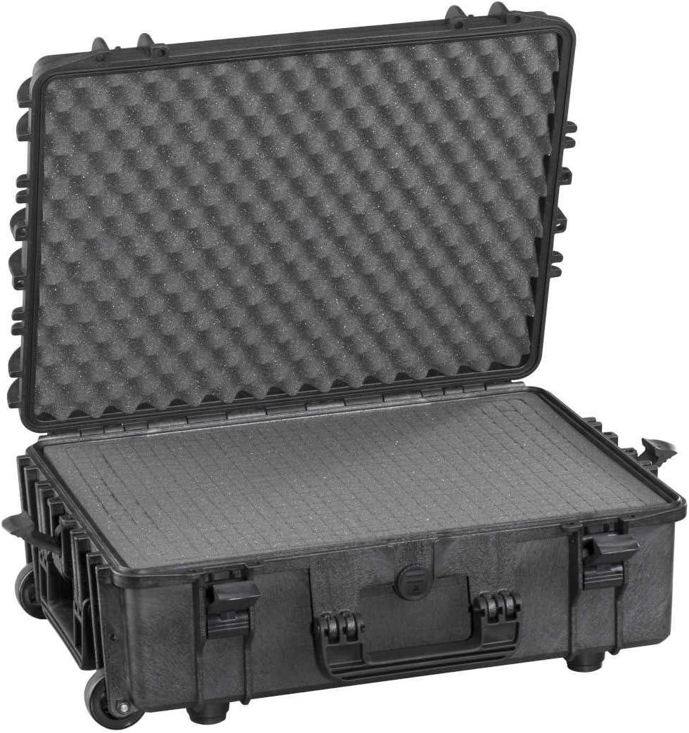 MAX540H190STR Valigia Trolley Ermetica per Trasportare e Proteggere Apparecchiature e Materiali Sensibili Max Cases Dimensioni Interne 538 x 405 x 190 mm