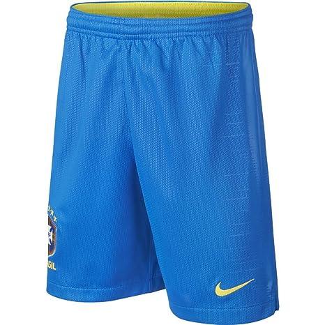 Nike Boys CBF y NK BRT Halmstad Short HM Entrenamiento Pantalones, Niño, Color Soar