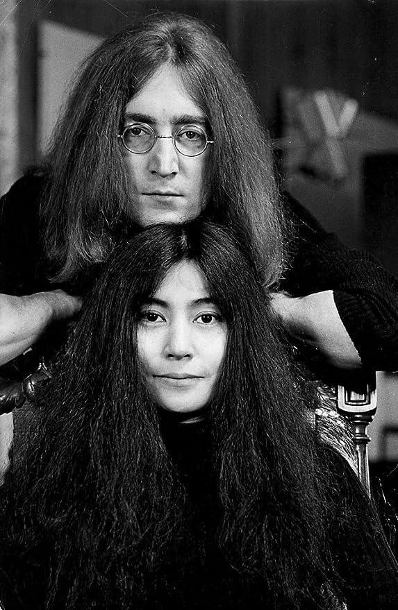 Amazon Com John Lennon And Yoko Ono Photo Print 8 X 10 Home Kitchen