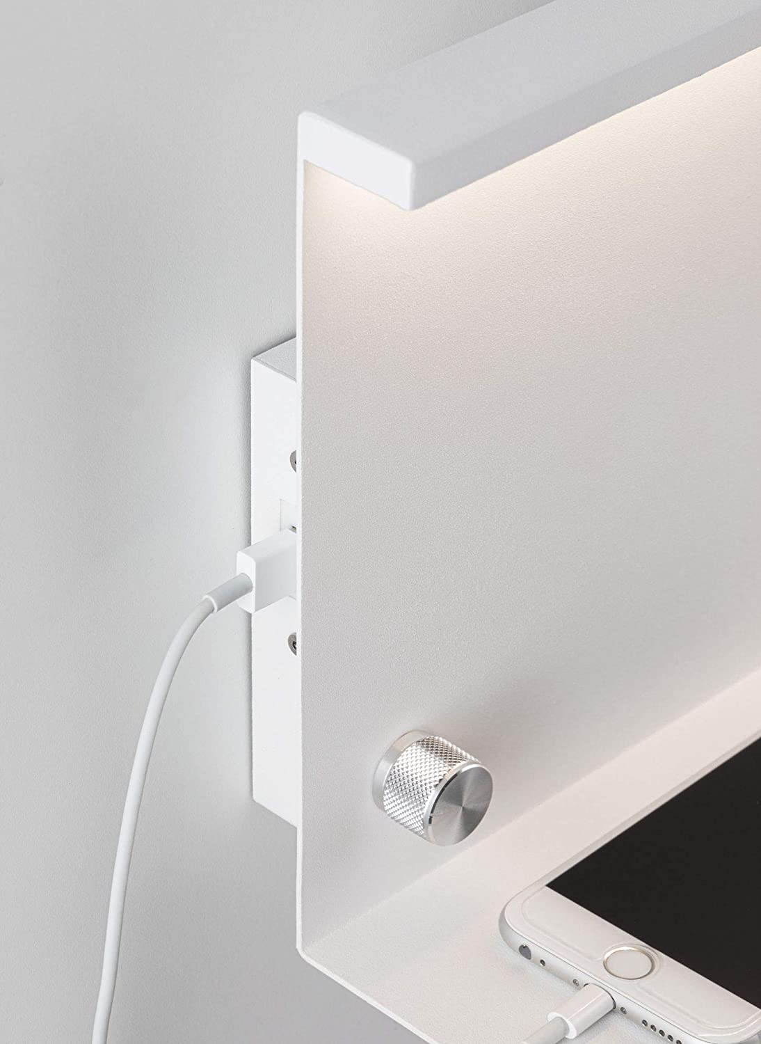 Paulmann Jarina 78916 LED de Pared con Estante Nexium