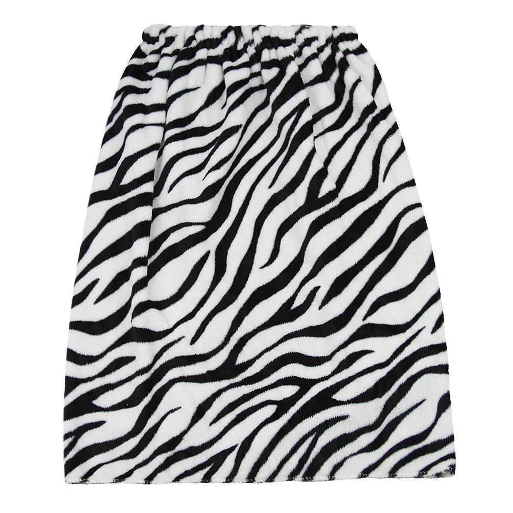 Kids Girls Bath Wrap Towels with Makeup Headband, Soft Warm Flannel Fleece Terry Bowknot Elastic Spa Beach Pool Shower Bath Robe Towel Wrap Cover Up Bathing Tube Top Dress Bathrobe Gown Sleepwear by Fakeface (Image #4)