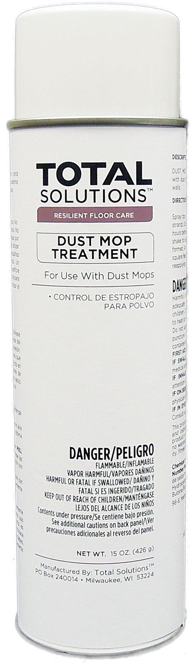 Aerosol Dust Mop Treatment Oil based, Lemon Scented Treatment - 12 Can Case