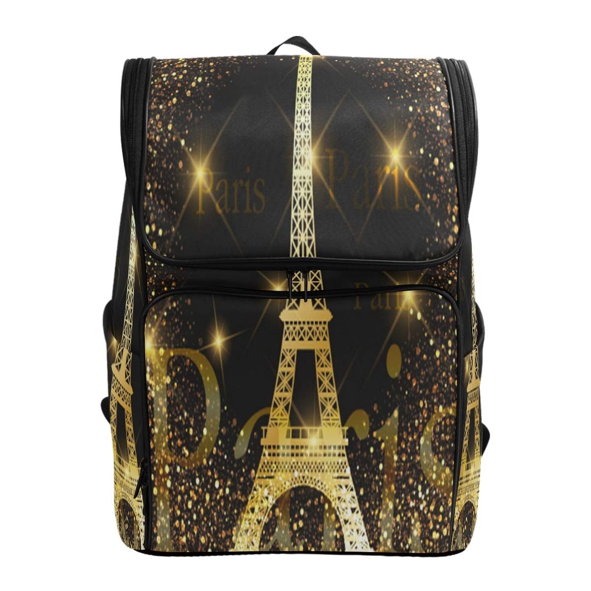 479b9c5ed0ab Amazon.com: Naanle Chic Beautiful Fireworks Paris Golden Eiffel ...