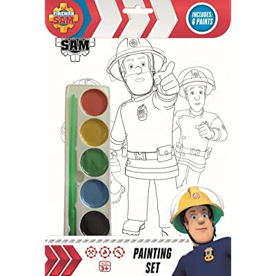 Fireman Sam Painting Set: Toys & Games [5Bkhe2011297]