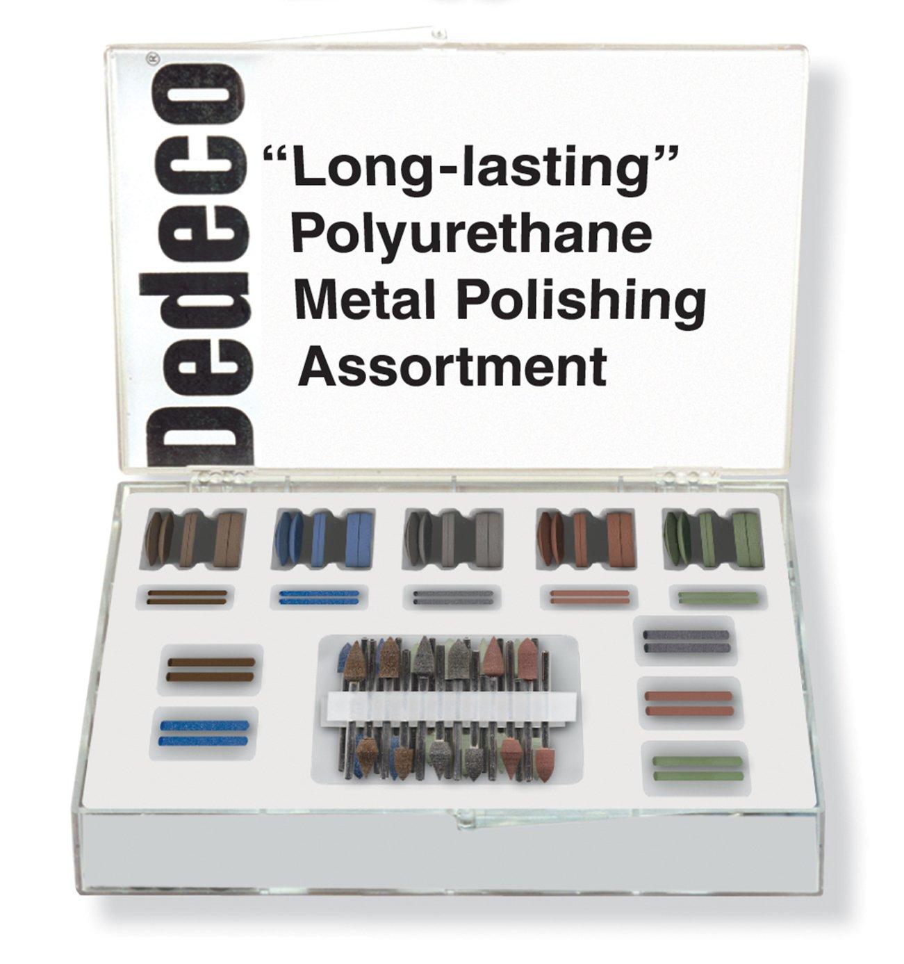 Dedeco 7856 Polyurethane Metal Polishing Kit (Pack of 84)