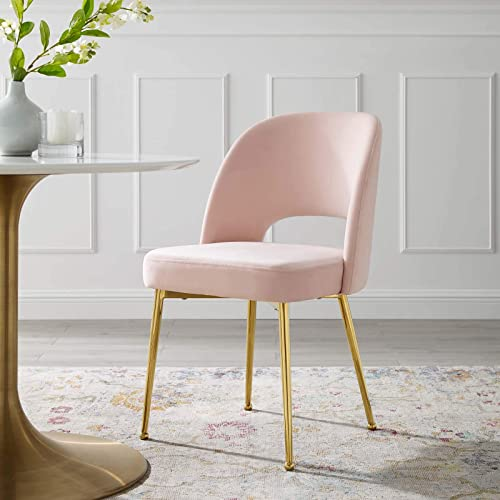 Modway Rouse Mid-Century Modern Performance Velvet Dining Side Chair
