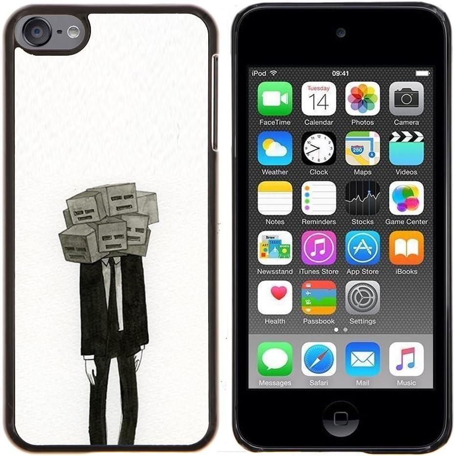 Planetar® (Máscara Significado Profundo Depresión Traje)  Apple iPod Touch 6 6th Touch6 Fundas Cover Cubre Hard Case Cover: Amazon.es: Electrónica