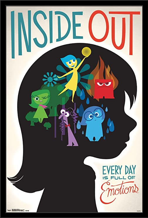 """Inside Out poster wall art home decor photo print 24x24/"""" inches"""