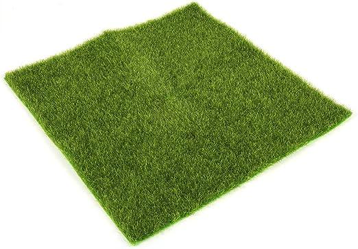 Césped artificial para hacer paisajismo, decorar un jardín y hacer manualidades: Amazon.es: Jardín