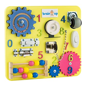 Buy Brain Up Toys Busy Board Busy Board For Toddlers Sensory