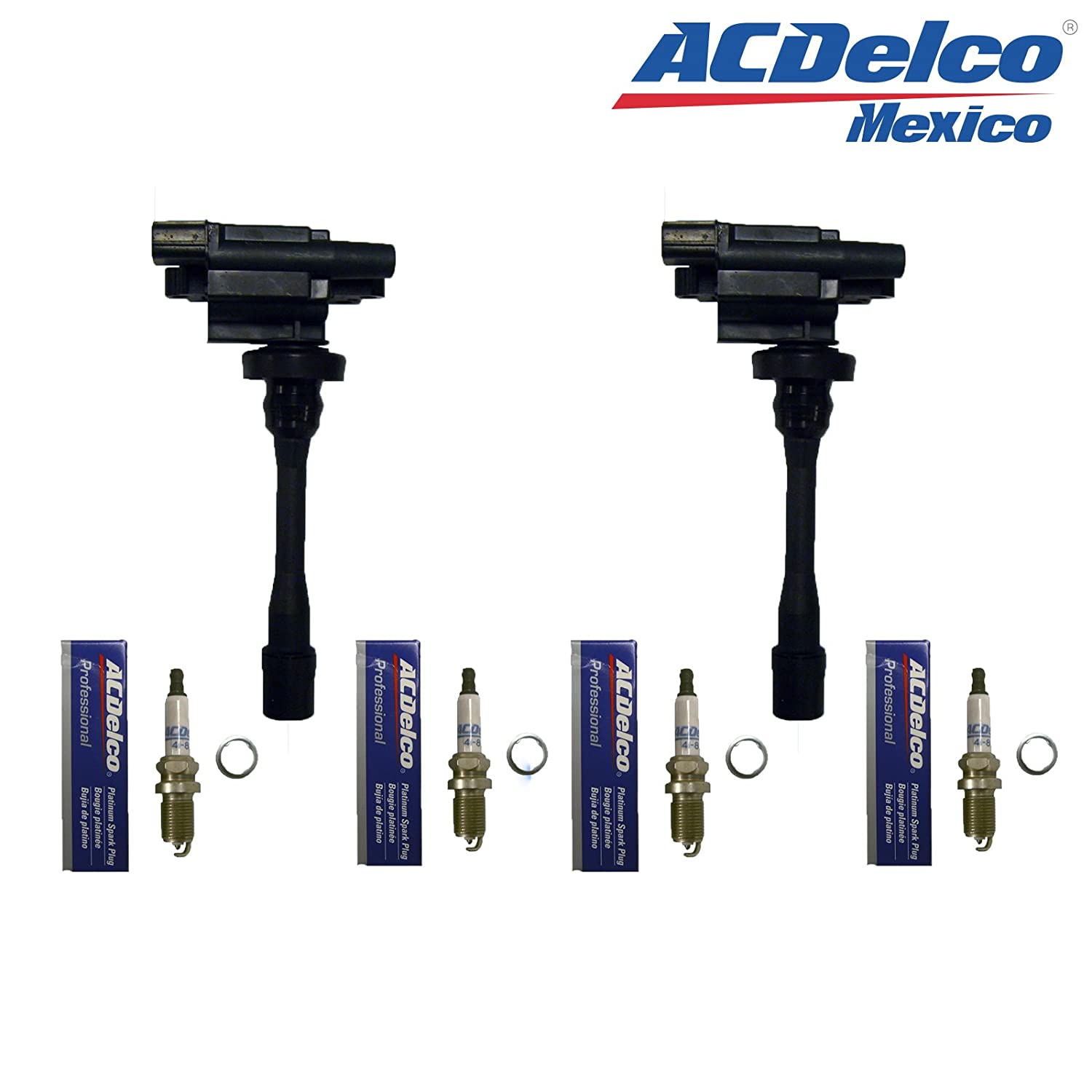 Amazon.com: 2 Richporter Ignition Coils + 4 ACDelco Spark Plugs 41-801 For 02-05 Chrysler Sebring: Automotive