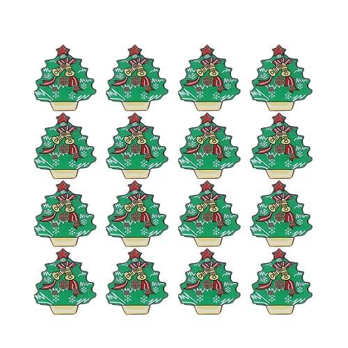 Christmas Tree Fillers.Amazon Com Holibanna Christmas Led Brooch Pins Glowing