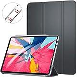 【軽量版】Ztotop iPad Pro 11 ケース 極薄軽量 3つ折りスタンド 磁気吸着式 オートスリープ機能 傷つけ防止 手帳型 2018秋発売のiPad Pro 11に対応 スマートカバー(ダークグレー)