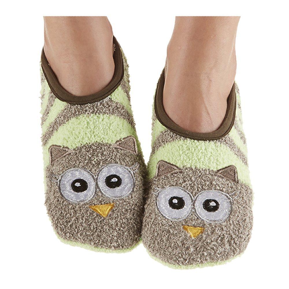 Snoozies Womens Animal Mary Jane Socks Large FA14-MJ-BEE